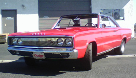 1967 Dodge Coronet R/T By Andy Brown - Image 1