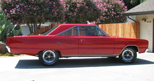 1967 Dodge Coronet R/T By Ted and Liz - Image 2