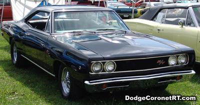1968 Dodge Coronet R/T. Photo from 2007 Mopar Nationals Classic - Columbus, Ohio.