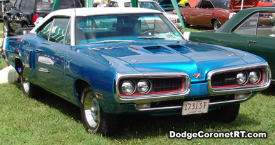 1970 Dodge Coronet R/T. Photo from 2007 Mopar Nationals Classic - Columbus, Ohio.