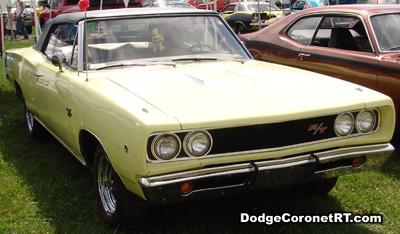 1968 Dodge Coronet R/T. Photo from 2007 Mopar Nationals Classic - Columbus, Ohio.