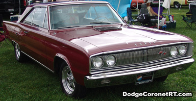 1967 Dodge Coronet R/T. Photo from 2007 Mopar Nationals Classic - Columbus, Ohio.