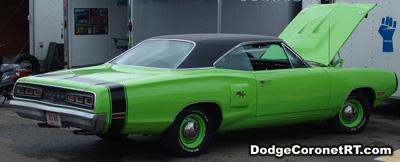 1970 Dodge Coronet R/T. Photo from 2007 Mopar Nationals Classic - Columbus, Ohio.