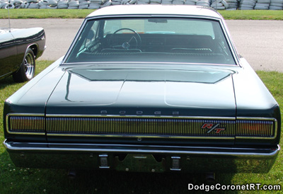1967 Hemi Powered Dodge Coronet R/T. Photo from 2005 Mopars At Indy Event.
