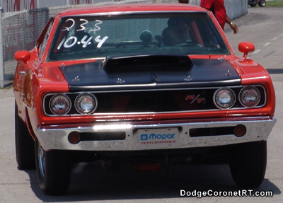 1968 Dodge Coronet R/T. Photo from 2005 Mopars At Indy Event.