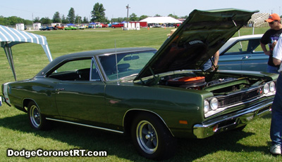 1969 Dodge Coronet R/T. Photo from 2006 Mopars At Indy Event.