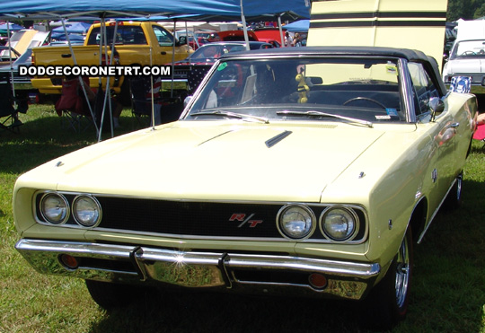 1968 Dodge Coronet R/T. Photo from 2008 Mopar Nationals Classic – Columbus, Ohio.