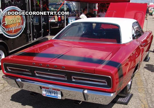 1969 Dodge Coronet R/T. Photo from 2008 Mopar Nationals Classic – Columbus, Ohio.