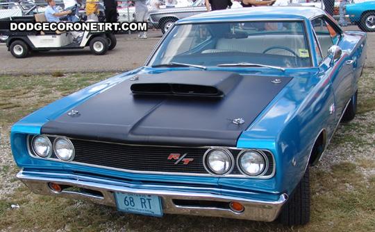 1968 Dodge Coronet R/T. Photo from 2008 Mopar Nationals Classic – Columbus, Ohio.