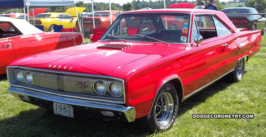 1967 Dodge Coronet R/T. Photo from 2011 Mopar Nationals Classic – Columbus, Ohio.