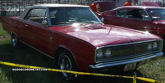 1967 Dodge Coronet R/T. Photo from 2012 Mopar Nationals Classic – Columbus, Ohio.