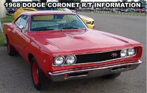 1968 Dodge Coronet R/T. Photo from the 2006 Mopar Nationals, Columbus Ohio.