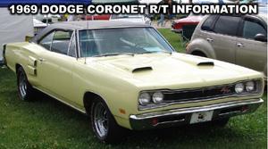 1969 Dodge Coronet R/T. Photo from the 2007 Mopar Nationals, Columbus Ohio.