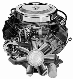 1970 426 HEMI Engine. Photo from the Chrysler archives.