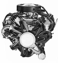 440 Cubic Inch 4-BBl Magnum V8 Engine