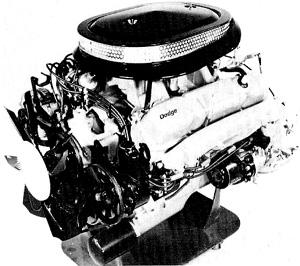 440 Cubic Inch Six Pack Magnum V8 Engine