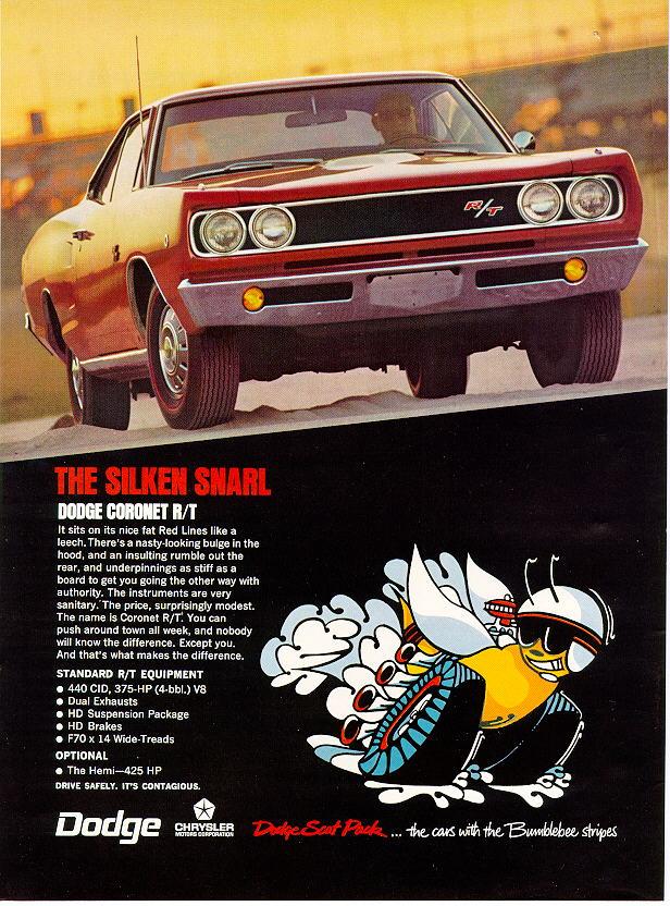 1968 Dodge Coronet Ad