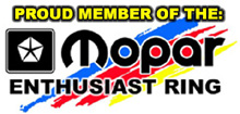 Mopar Enthusiast Ring Member